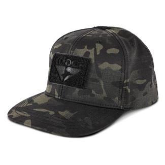 Condor Flat Bill Snapback Hat MultiCam Black