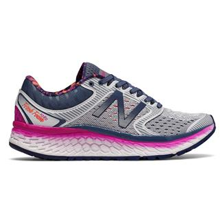 New Balance Fresh Foam 1080 v7 Arctic Fox / Poison Berry / Vivid Tangerine