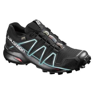 Salomon Speedcross 4 GTX Black / Black / Metallic Bubble Blue