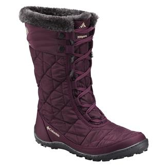 Columbia Minx Mid II Omni-Heat 200G Purple Dahlia / Ancient Fossil