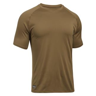 Under Armour Tactical Tech Tee Coyote Brown / Black