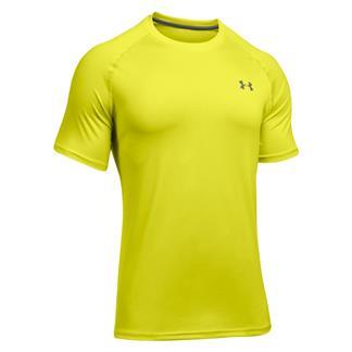 Under Armour Tech T-Shirt Smash Yellow / Graphite