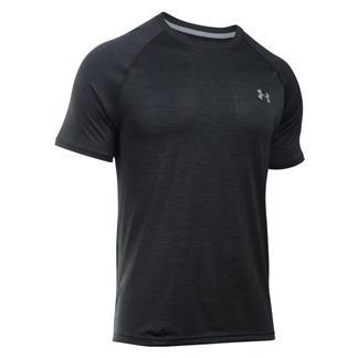 Under Armour Tech T-Shirt Black / Steel