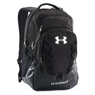 Under Armour Storm Recruit Backpack Black / Steel / Silver