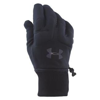 Under Armour ColdGear Infrared Armour Fleece Gloves Black / Stealth Gray