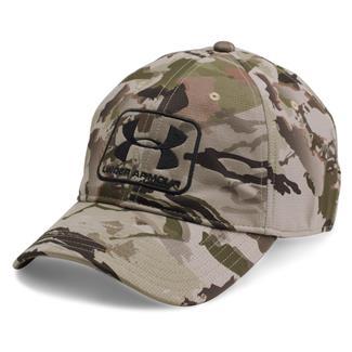 Under Armour Camo Stretch Fit Cap Ridge Reaper Barren / Black