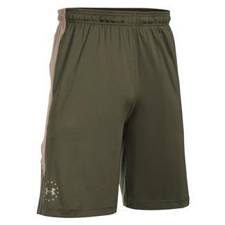 Under Armour Freedom Raid Shorts Marine OD Green / Desert Sand