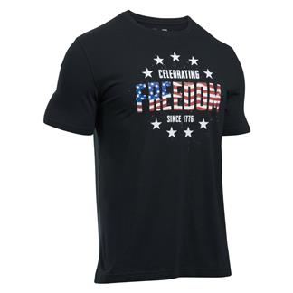Under Armour Freedom Independence T-Shirt Black / White