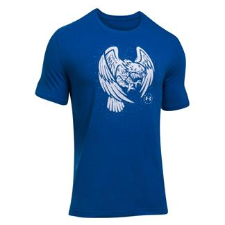 Under Armour Freedom Eagle T-Shirt Royal / White