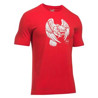 Under Armour Freedom Eagle T-Shirt Red / White