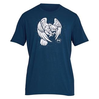 Under Armour Freedom Eagle T-Shirt Blackout Navy / White