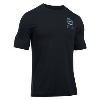 Under Armour Freedom By Air T-Shirt Black / Urban Blue