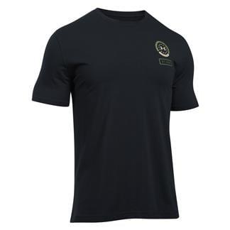 Under Armour Freedom By Land T-Shirt Black / ECRU