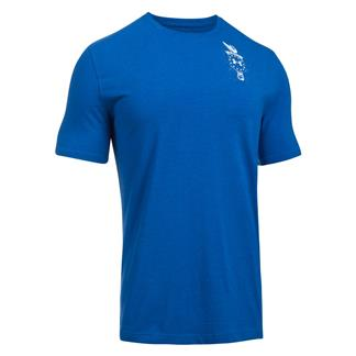 Under Armour Freedom Home Of T-Shirt Royal / White