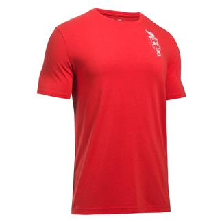 Under Armour Freedom Home Of T-Shirt Red / White
