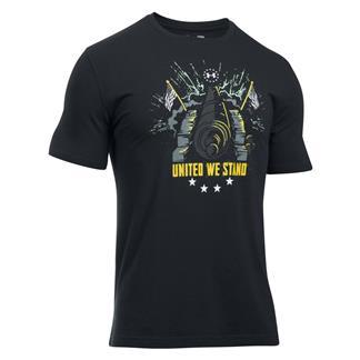 Under Armour Freedom Inspirational T-Shirt Black / White