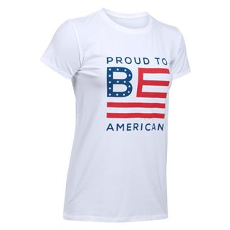 Under Armour Freedom Proud To Be T-Shirt White / Red