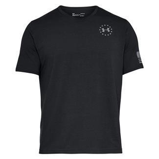 Under Armour Freedom Flag T-Shirt Black / Steel