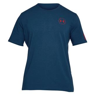 Under Armour Freedom Flag T-Shirt Blackout Navy / Red