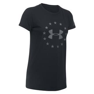 Under Armour Freedom Logo 2.0 T-Shirt Black / Graphite