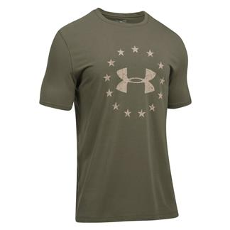 Under Armour Freedom Logo 2.0 T-Shirt Marine OD Green / Desert Sand
