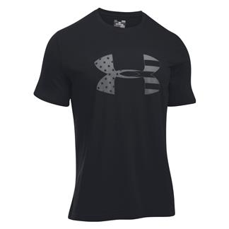 Under Armour Freedom Tonal BFL T-Shirt Black / Graphite