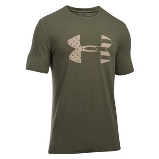 Under Armour Freedom Tonal BFL T-Shirt Marine OD Green / Desert Sand