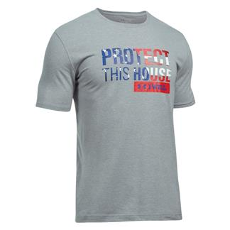 Under Armour Protect This House 2.0 T-Shirt Steel Light Heather / Red