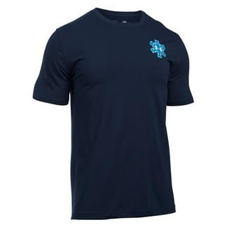 Under Armour Freedom EMS Graphic T-Shirt Midnight Navy / White