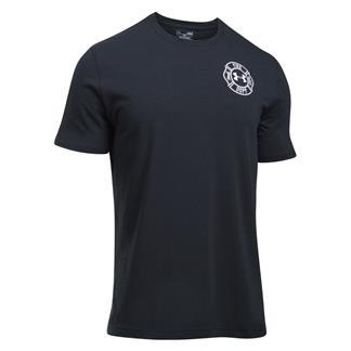 Under Armour Freedom Maltese Cross 2.0 T-Shirt Dark Navy Blue / White