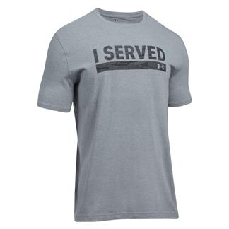 Under Armour Freedom I Served 2.0 T-Shirt Steel Light Heather / Black