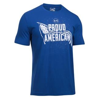 Under Armour Freedom Proud American Graphic T-Shirt Royal / White