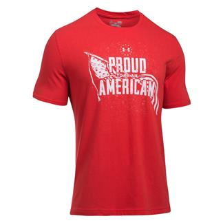 Under Armour Freedom Proud American Graphic T-Shirt Red / White