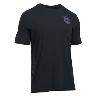 Under Armour Freedom Thin Blue Line 2.0 T-Shirt Black / Royal / Graphite
