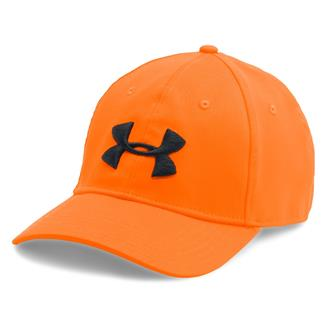 Under Armour Camo Cap 2.0 Blaze Orange / Black
