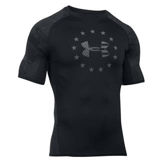 Under Armour Freedom Comp T-Shirt Black / Black Tonal Reaper / Graphite