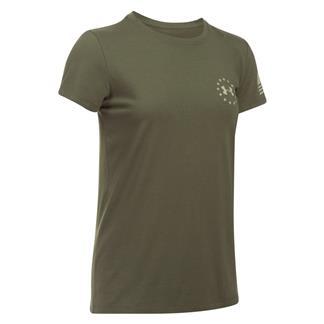 Under Armour Freedom Flag 2.0 T-Shirt Marine OD Green / Desert Sand