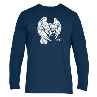 Under Armour Freedom Eagle Long Shirt Blackout Navy / White
