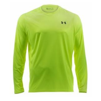 Under Armour Tactical Hi-Vis Long Sleeve T-Shirt High / Vis Yellow / Reflective