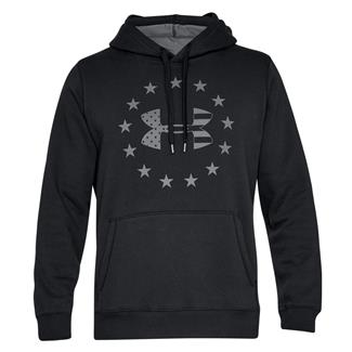 Under Armour Freedom Rival Fleece Hoodie Black / Graphite