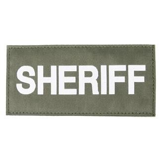 Blackhawk Sheriff Patch White on Green