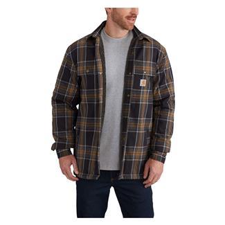 Carhartt Hubbard Sherpa Lined Shirt Jac Black