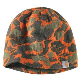 Carhartt Montgomery Reversible Hat Blaze Duck Camo