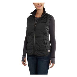 Carhartt Amoret Flannel-Lined Vest Black