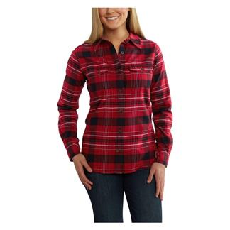 Carhartt Rugged Flex Hamilton Shirt Dark Crimson