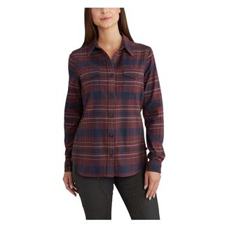 Carhartt Rugged Flex Hamilton Shirt Deep Wine