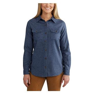 Carhartt Rugged Flex Hamilton Solid Shirt Flint Stone