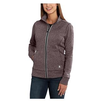 Carhartt Force Extremes Zip Front Sweatshirt Sparrow Heather
