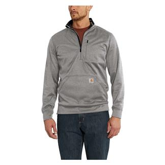 Carhartt Force Extremes 1/2 Zip Sweatshirt Asphalt Heather