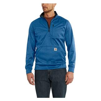 Carhartt Force Extremes 1/2 Zip Sweatshirt Huron Heather